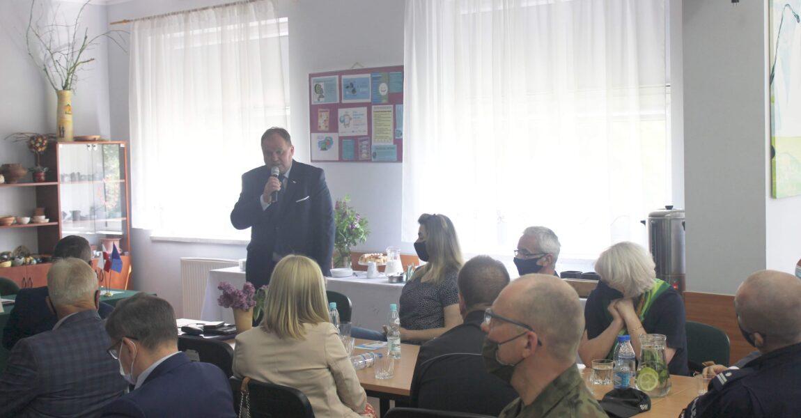 Wojewódzka Rada Programowa OHP obradowała wOśrodku Szkolenia iWychowania wWasilkowie