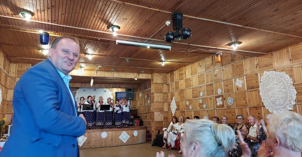 Spotkanie Kół Gospodyń Wiejskich zpowiatu białostockiego wRafałówce