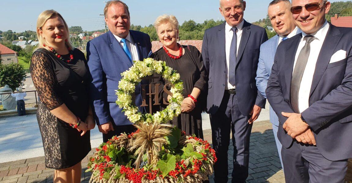 Wojewódzkie Święto Plonów wDąbrowie Białostockiej