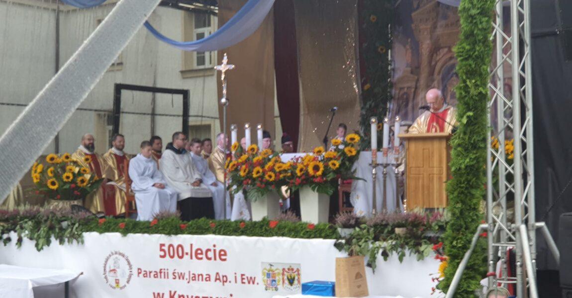 Parafia św.Jana Apostoła iEwangelisty wKnyszynie świętuje 500-lecie!